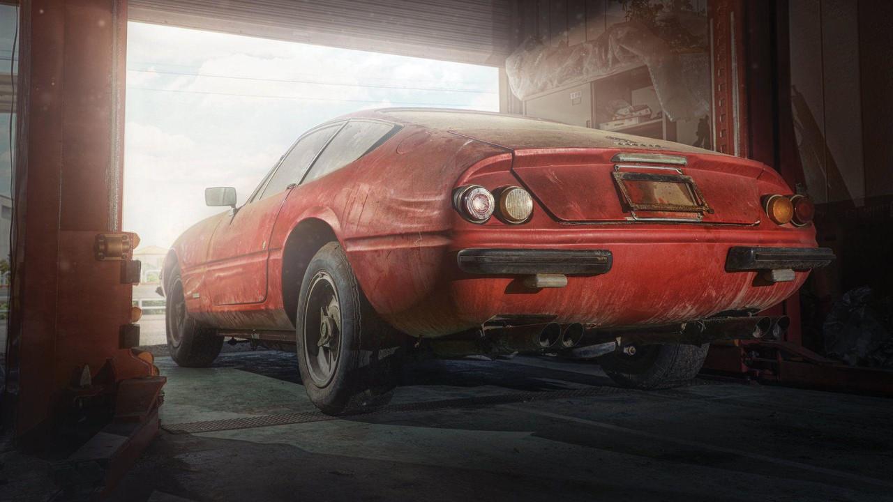 Foto de Ferrari 365 GB4/4 Daytona Berlinetta Alloy by Scaglietti (1/28)