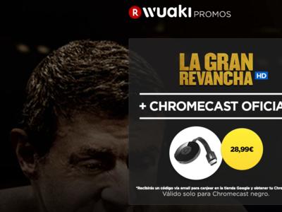 Google Chromecast por sólo 28,99 euros y envío gratis