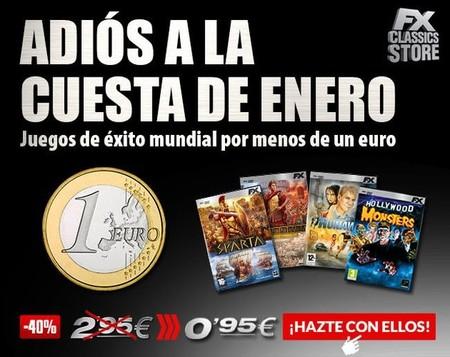 Tenemos varios clásicos de FX Interactive por menos de un euro