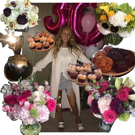 Nos colamos en la fiesta de Blake Lively: amigas, globos, risas y algo de comer