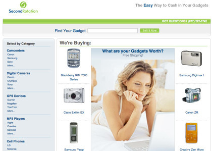 SecondRotation compra tus gadgets de segunda mano