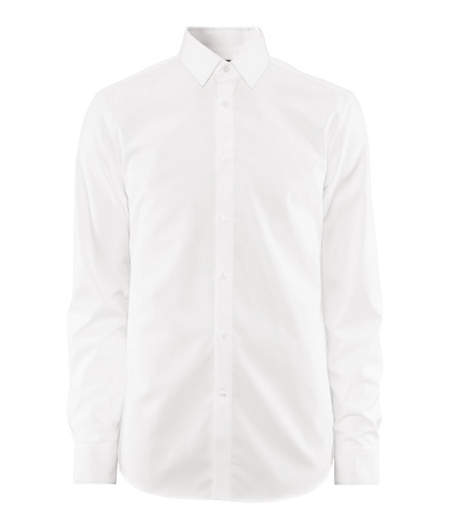 Camisa blanca H&M holiday fashion