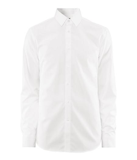 Camisa blanca H&M holiday fashion