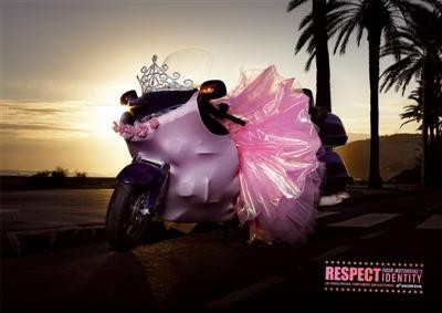 Respect your motorbike�s identity