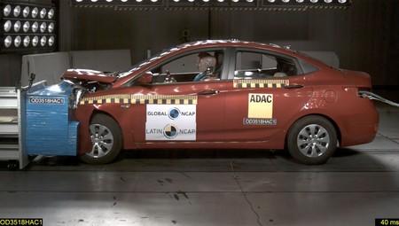 Hyundai Accente obtiene cero estrellas en prueba de choque Latin NCAP
