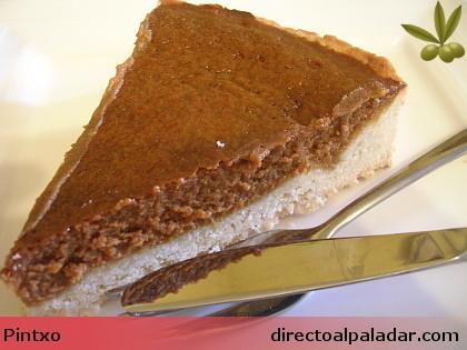 Receta de tarta de dulce de leche con galleta de coco