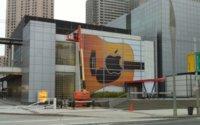 Primeras imágenes del Yerba Buena Center con la decoración para el evento del 01/09/2010