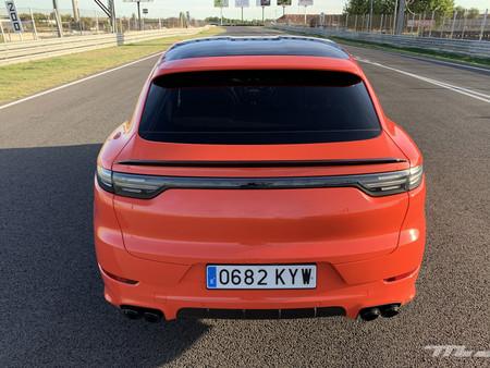Porsche Cayenne Coupe Turbo trasera