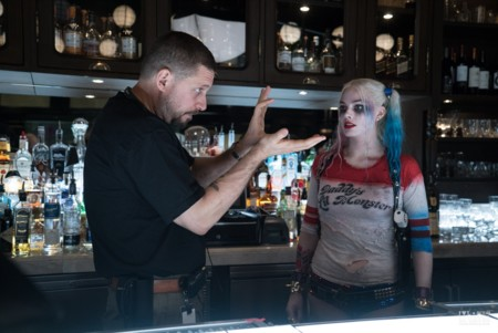 David Ayer y Margot Robbie