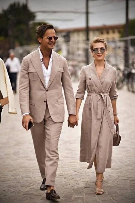 Beige White Men Street Style Spring Summer 2020 Trendencias Hombre 05