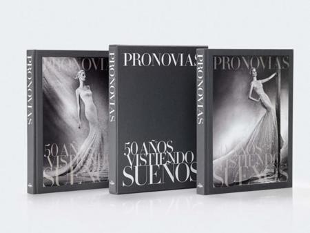 '50 años vistiendo sueños' el primer libro de Pronovias