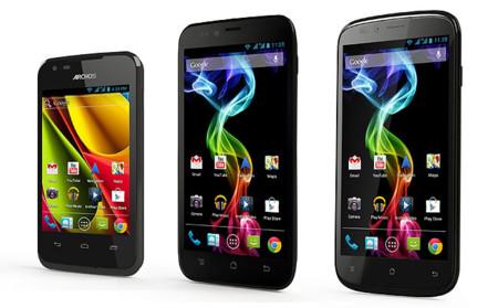 Archos anuncia tres smartphones Android libres por menos de 270 euros