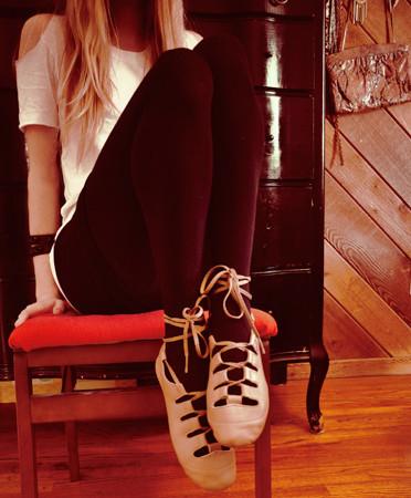 Zapatillas inspiradas en el ballet