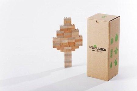 LEGO en madera