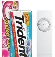 Posibles iPod Shuffle más pequeños para enero