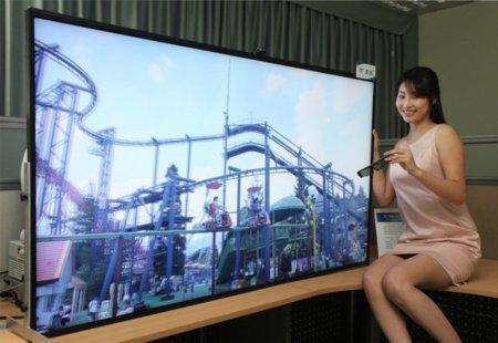 Samsung enseña un panel 3D con resolución brutal