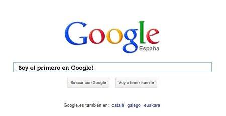 Y que aparezca el primero en Google