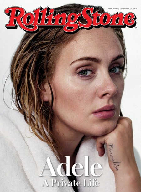 Adele Cover Rollingstone