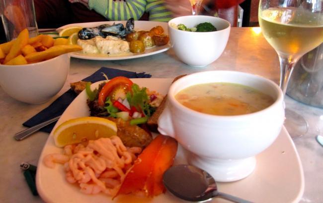 Seafood Irlanda