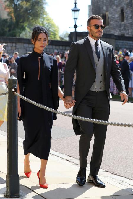 El Look De Los Beckham En La Boda Real Podra Ser Tuyo Gracias A Una Subasta Benefica 2