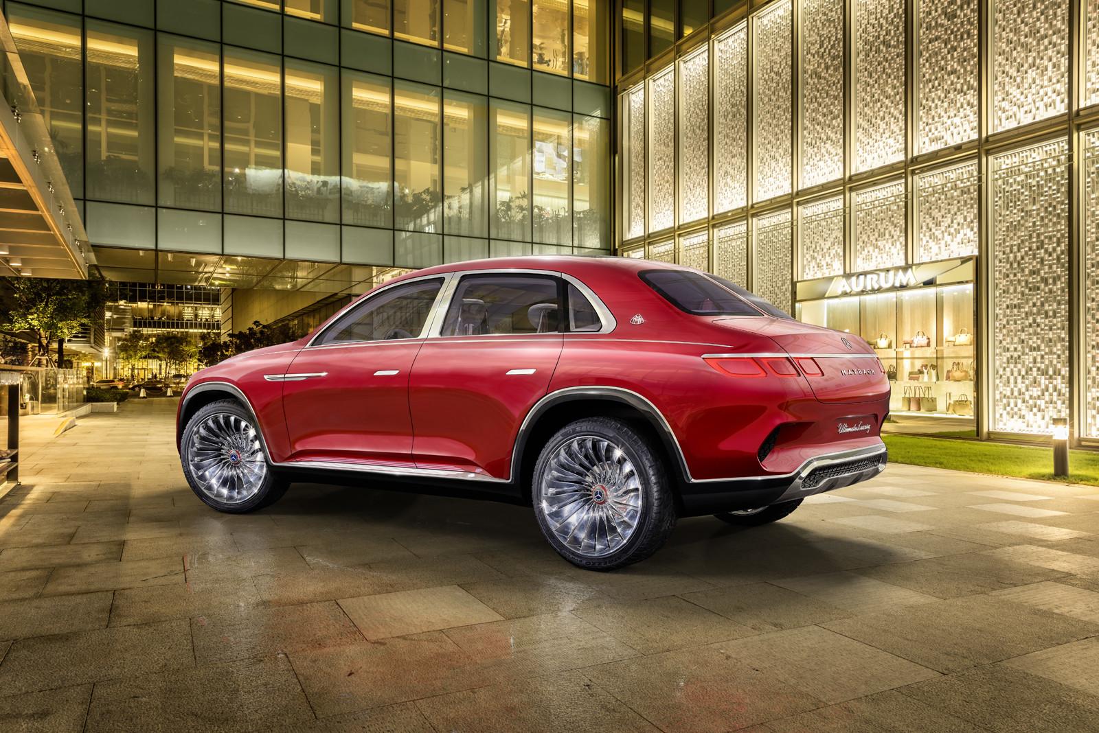 Foto de Mercedes-Maybach Ultimate Luxury Concept (18/18)