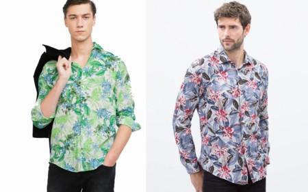 Floral Print Shirts Zara Sale Trendencias Hombre 2