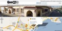QueWifi, mapa colaborativo para encontrar puntos Wifi públicos