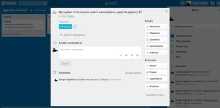 Recopilar Informacion Sobre Emuladores Para Raspberry Pi En Agenda Personal Trello