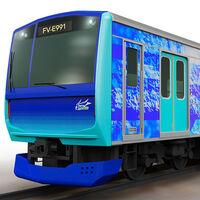 Toyota también va a desarrollar un tren de hidrógeno, operará en Japón y estará listo en 2022
