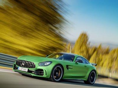 Mercedes-AMG GT R, la Bestia del Infierno Verde es... verde y muy (muy) especial
