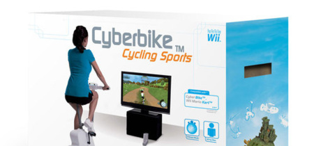 Cyberbike, pack con bicicleta incluida para la Nintendo Wii
