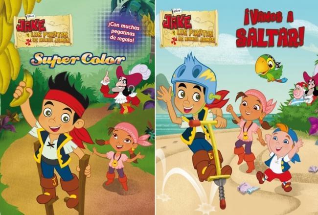 Libros de Jake y los piratas
