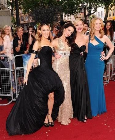 Alfombra roja estreno Sexo en Nueva York 2 en Londres: los looks de protagonistas e invitadas