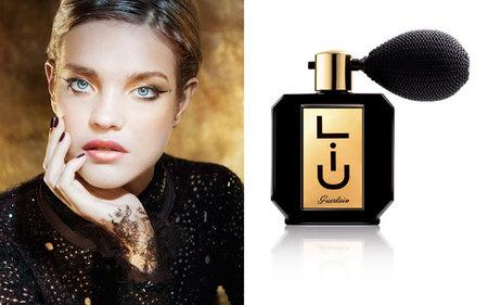 Colorido Navidad 2012 de Guerlain, del perfume Liù a la paleta de maquillaje en oro y rojo. El Año del Dragón