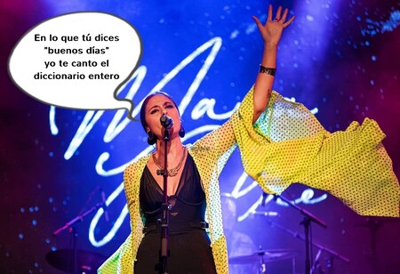 ¿Quién es la digna sucesora de Lola Flores que estuvo ayer en 'El Hormiguero'? Se llama María Peláe: cantante, flamenca y con una lengua más rápida que un ventilador de techo