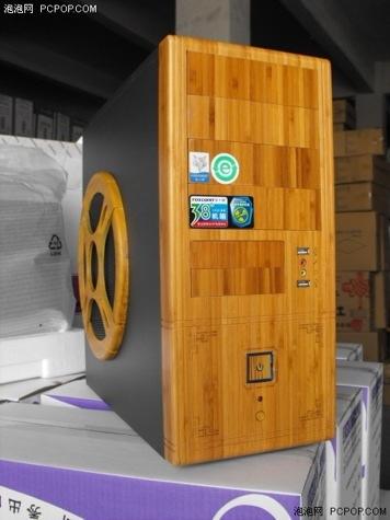 Foxconn presenta un par de cajas de ordenador hechas con bambú