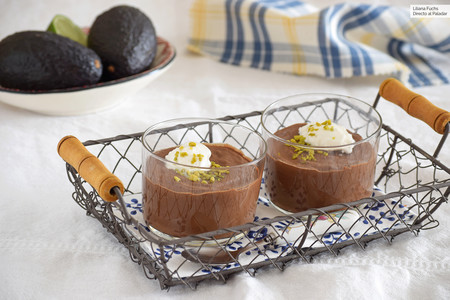 Pudding de Aguacate