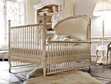 Una habitación de lujo para el bebé