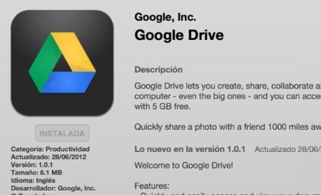 Google Drive ya es compatible con iOS