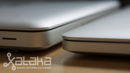 Macbook Pro Retina comparativa de grosor