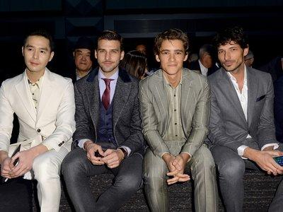 El front row con más estilo de Milán (hasta la fecha), el de Salvatore Ferragamo
