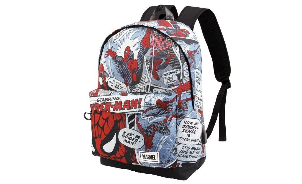 Mochila HS 1.3 Marvel Spiderman Brush Karactermania Multicolor