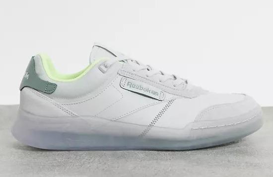 Zapatillas de deporte grises y verdes Club C Legacy de Reebok