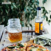 Cómo hacer la tradicional pizza mexicana