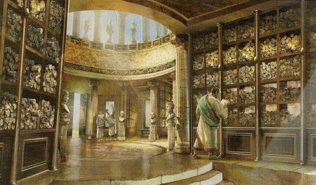 Resultado de imagen para la biblioteca de alejandria