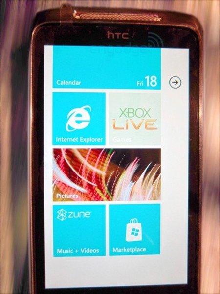 HTC y su terminal Windows Phone 7, primeras filtraciones