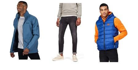 Chollos en tallas sueltas de pantalones, camisetas y chaquetas de marcas como Superdry, Dickies o G-Star en Amazon