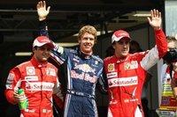 Sebasitan Vettel se hace con la pole por tan sólo dos milésimas
