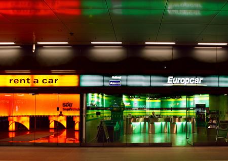 Infografía sobre el alquiler de coches a nivel internacional