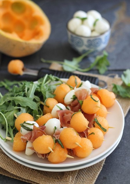 Melon Mozzarella Appetizer